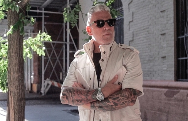 Nick Wooster in the Mr&Mrs video series