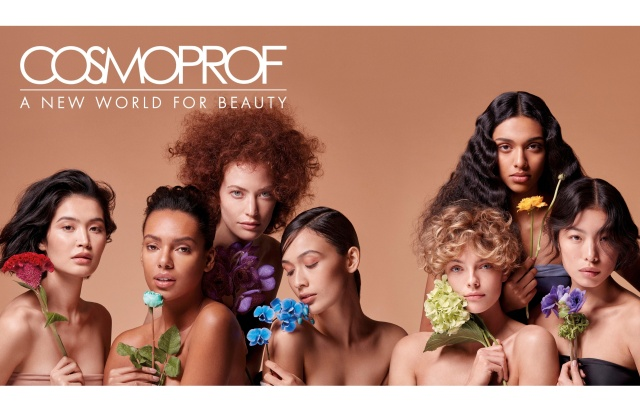 Cosmoprof's new ad campaign that will be used to promote the format's events in 2021.