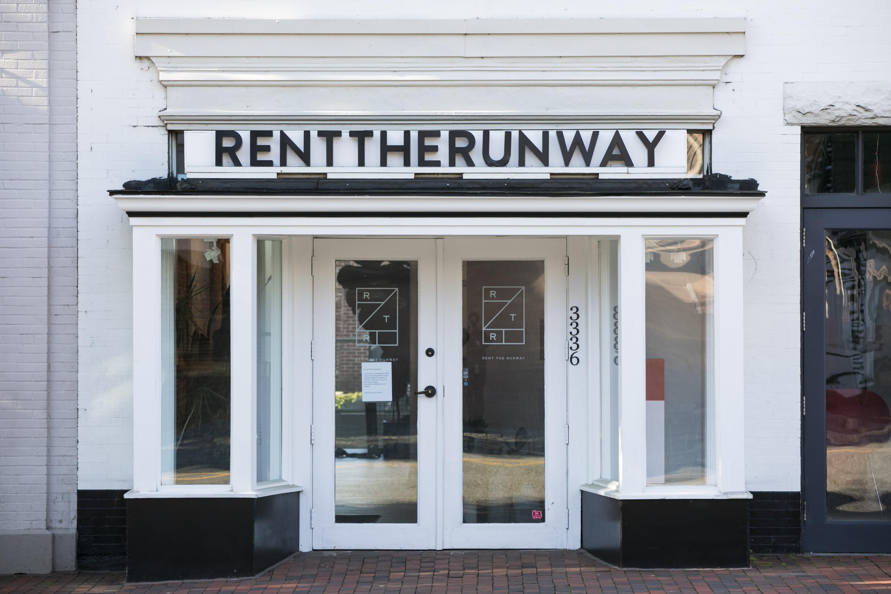 Rent the Runway store