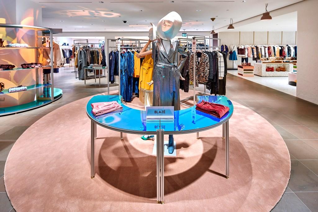 The Rinascente, CNMI pop-up shop at the retailer's Milan unit.