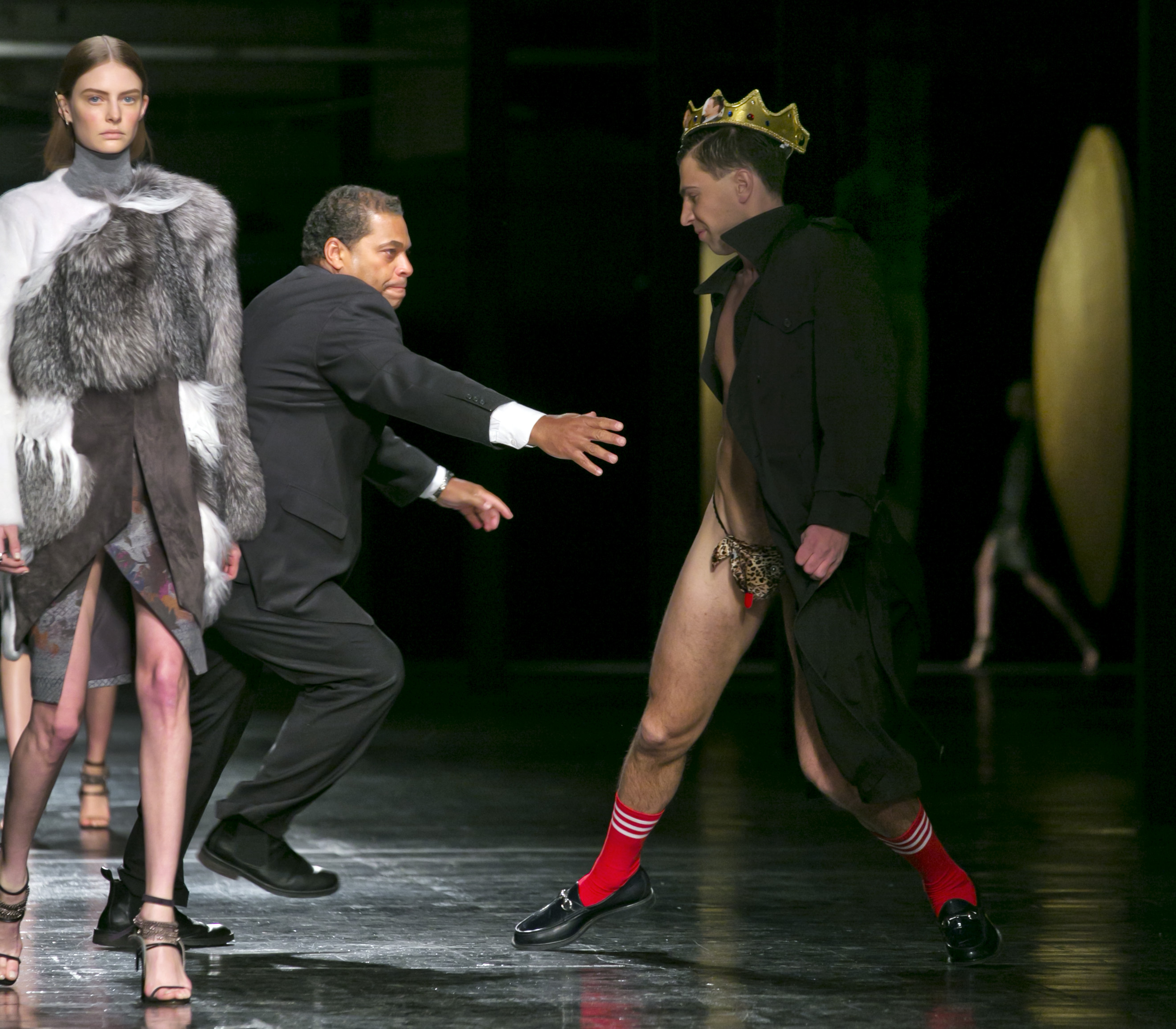 8 Times Runway Crashers Disrupted Fashion Week Shows
