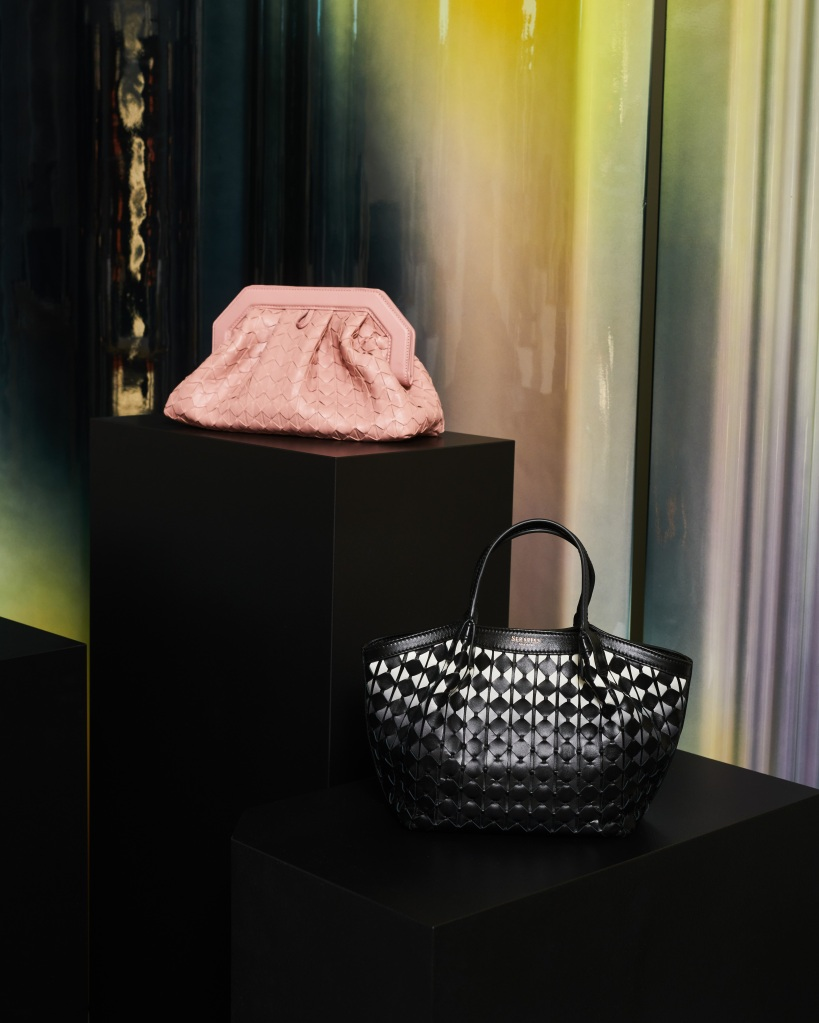 Handbags from the Serapian spring 2021 collection.