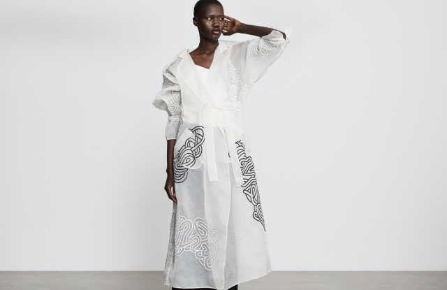A look from Varana's spring 2021 collection.