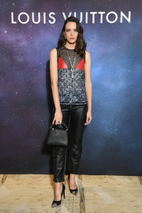 Stacy Martin at Louis Vuitton jewelry launch