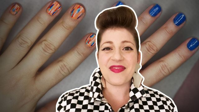 Video: How Create Runway-Ready Nails Home
