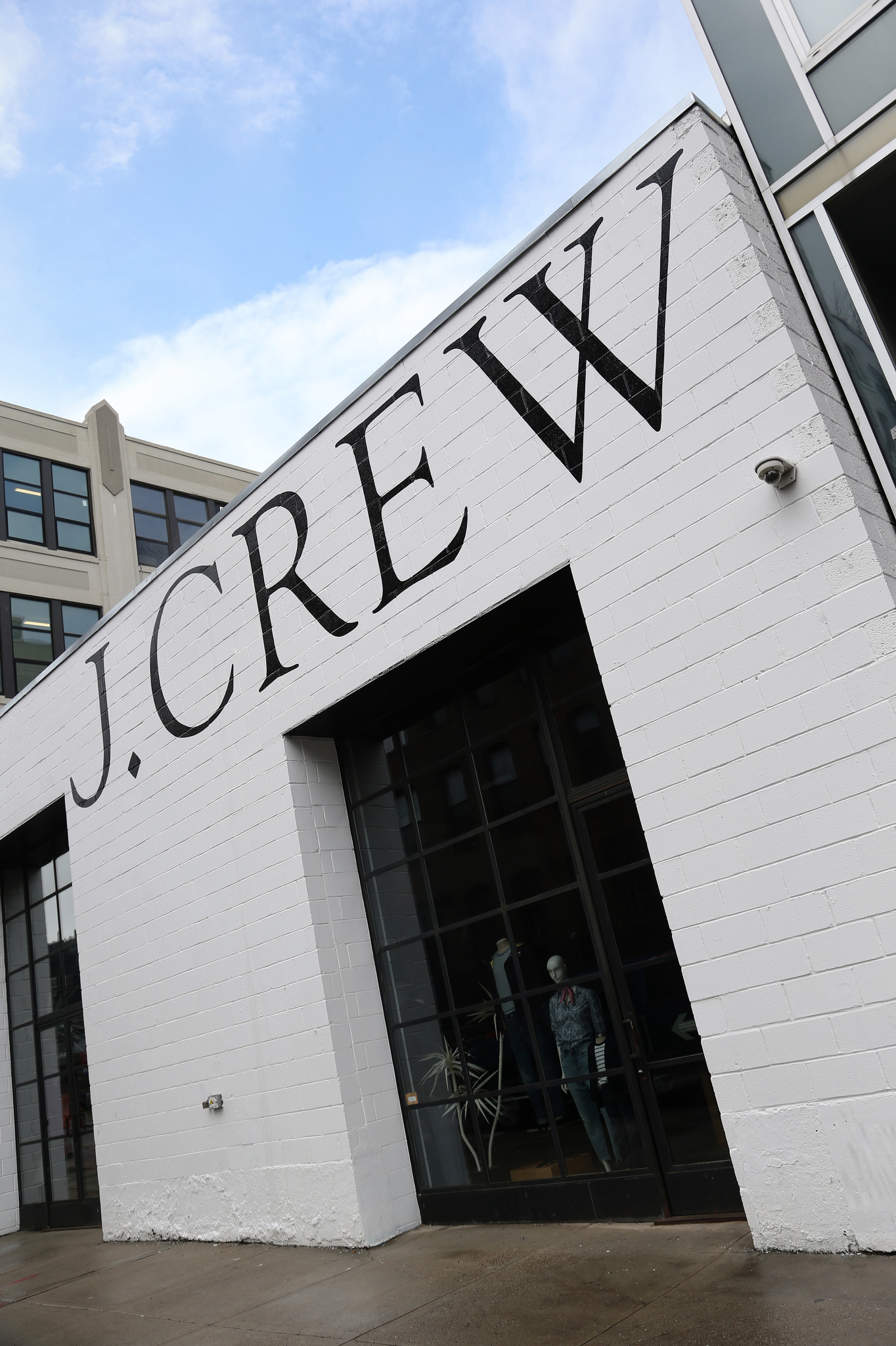 J. Crew in Brooklyn, New York.