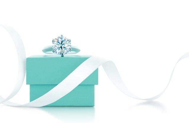 tiffany box and setting ring