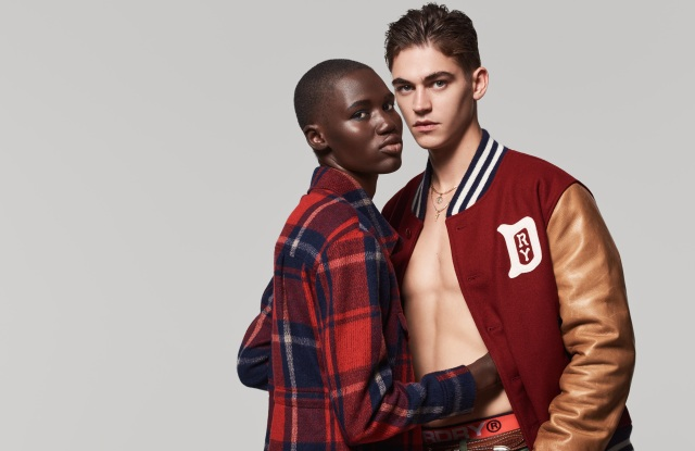 """Hero Fiennes Tiffin Fronts Superdry """"Rebels and Heroes"""" Campaign"""