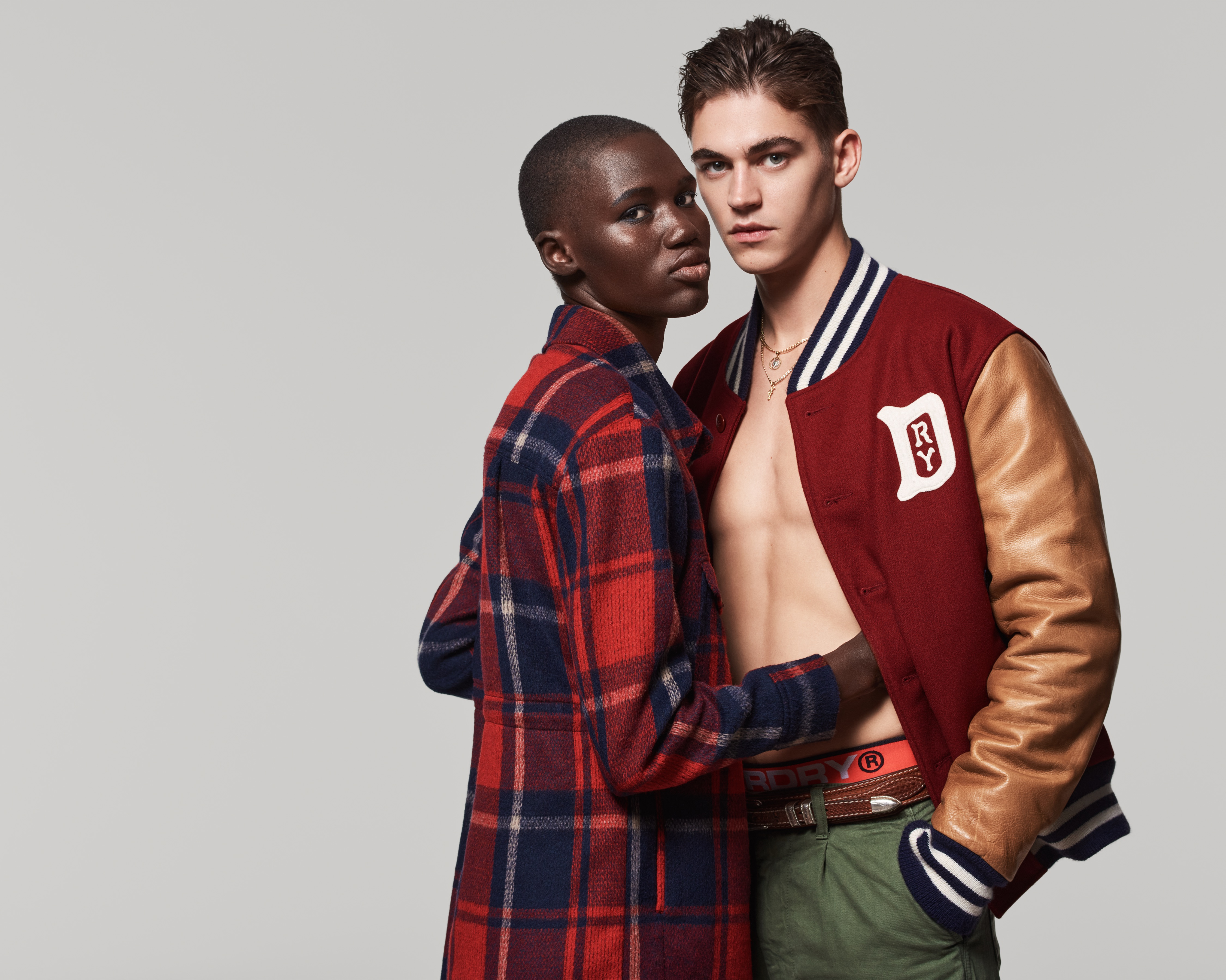 "Hero Fiennes Tiffin Fronts Superdry ""Rebels and Heroes"" Campaign"