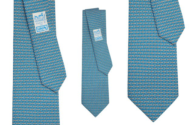 The Hermès United Nations anniversary tie.