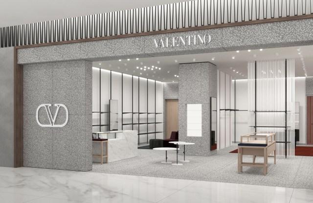 Valentino's Mexico City shop.