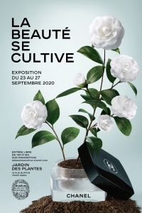 "A poster for ""La Beauté Se Cultive"""
