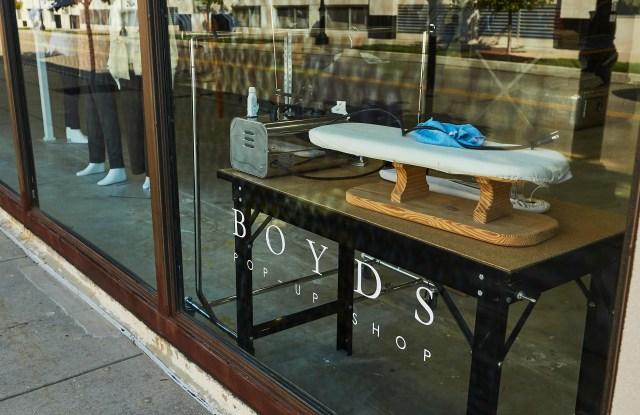 Boyds pop-up