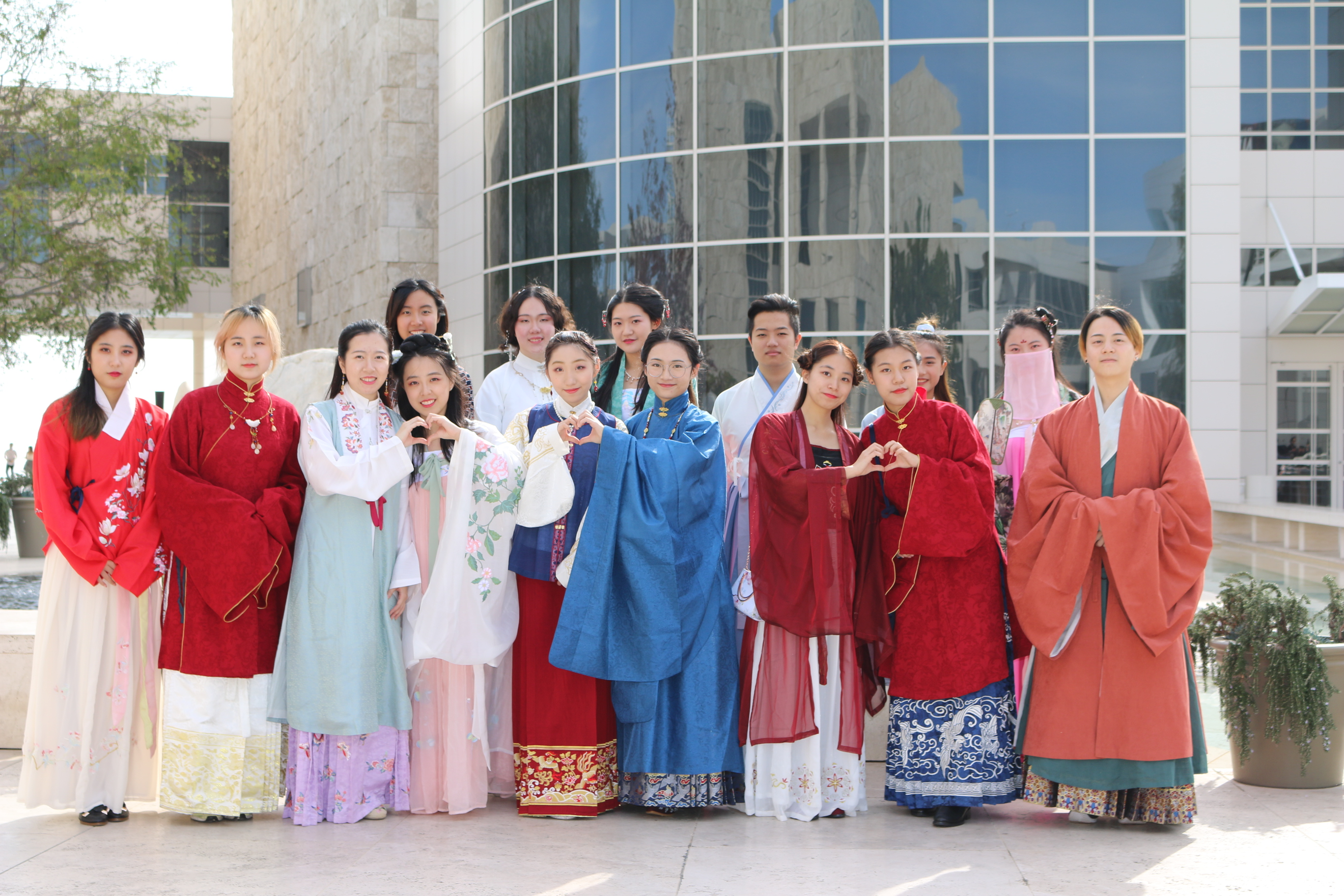 Gathering of Hanfu Interest Group in Los Angeles