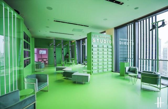 Harrods Studio at Shanghai Fashion Week