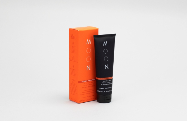 The Stain Removal flouride-free whitening paste by Moon and Heron Preston