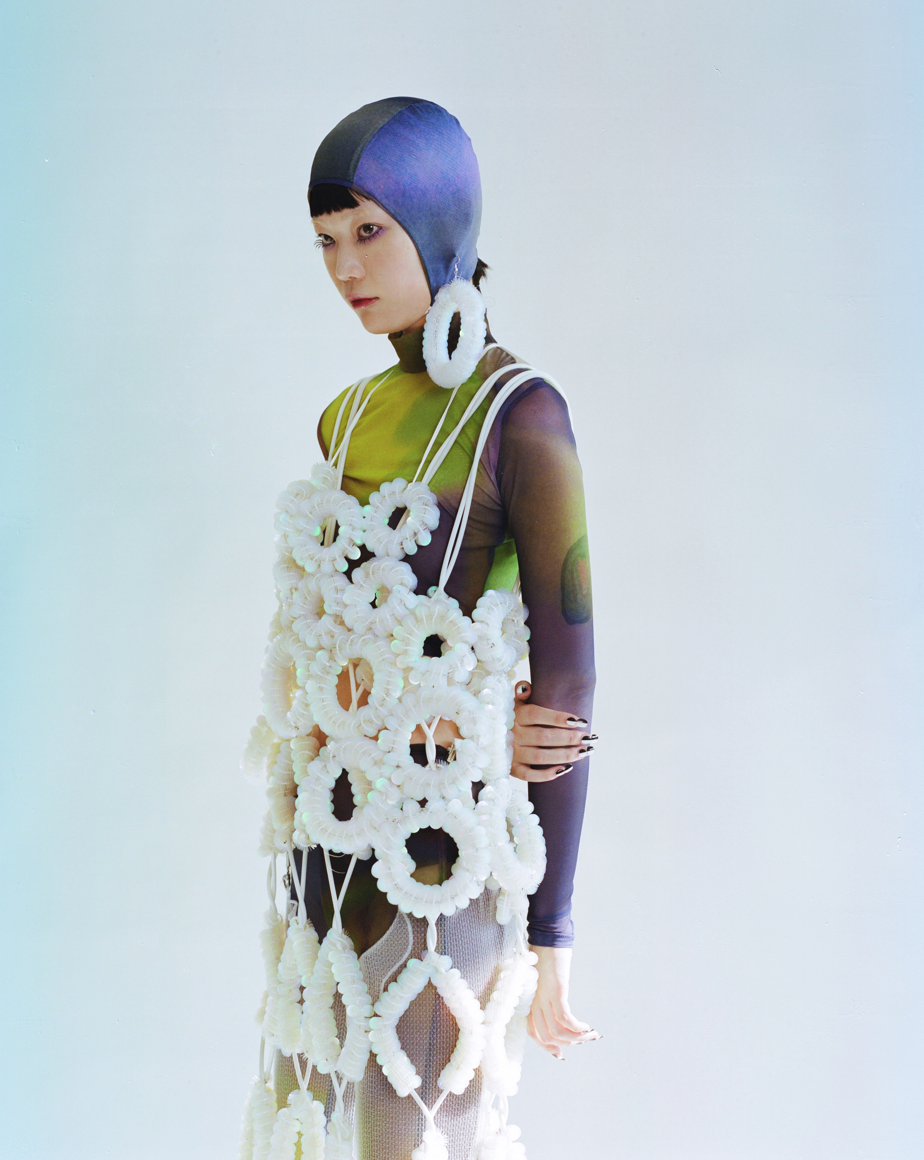 Shie Lyu's China debut during Shanghai Fashion Week