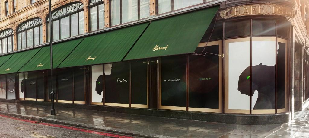 Harrods x Cartier