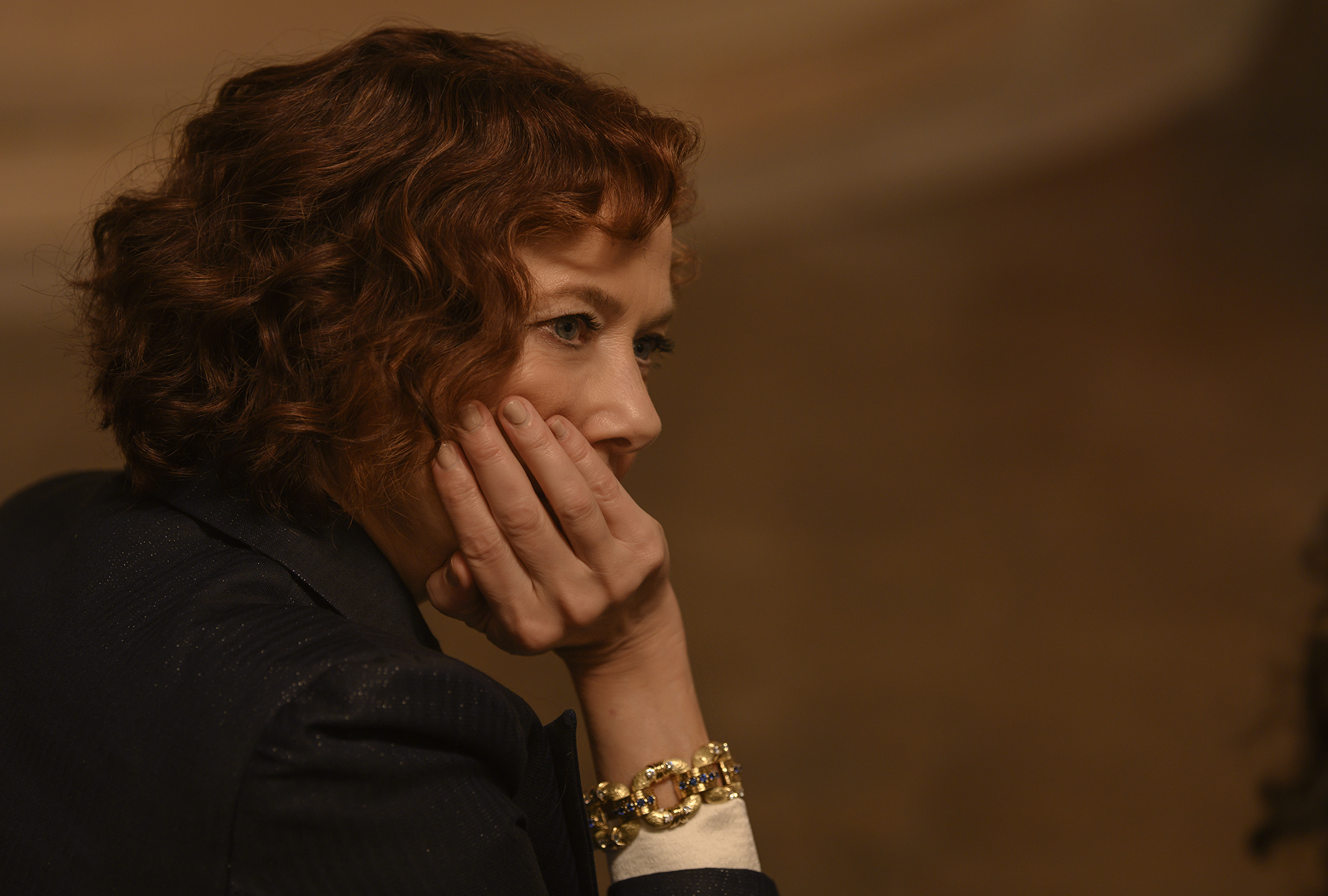 """Annette Bening as Euphemia Bouc in """"Death on the Nile"""""""
