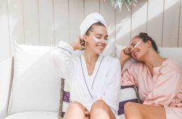 A campaign image for Australian online beauty retailer Adore Beauty.
