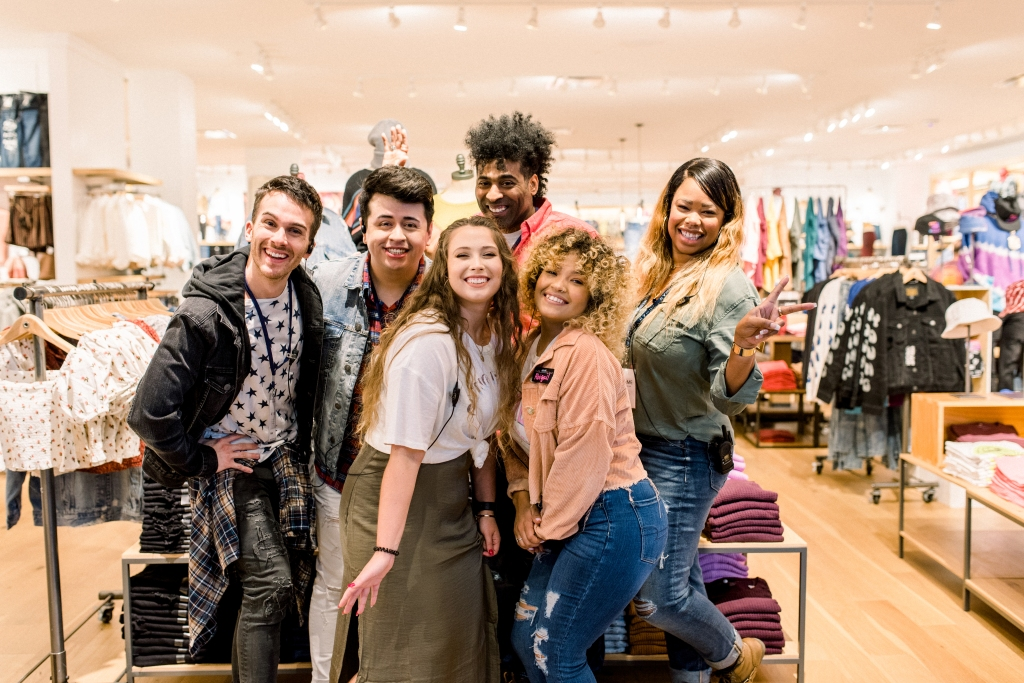 American Eagle retail employees