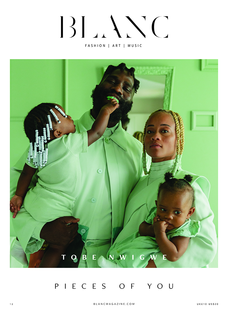 Blanc's third cover featuring rapper Tobe Nwigwe and his family.