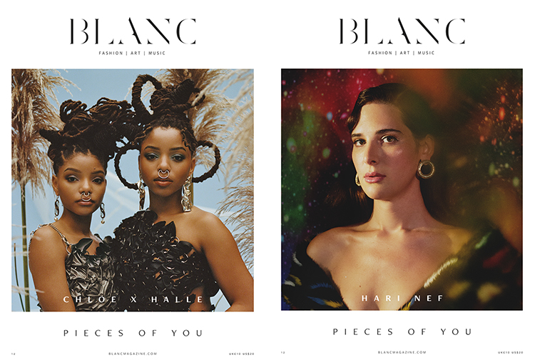 Two of Blanc's three Fall covers.