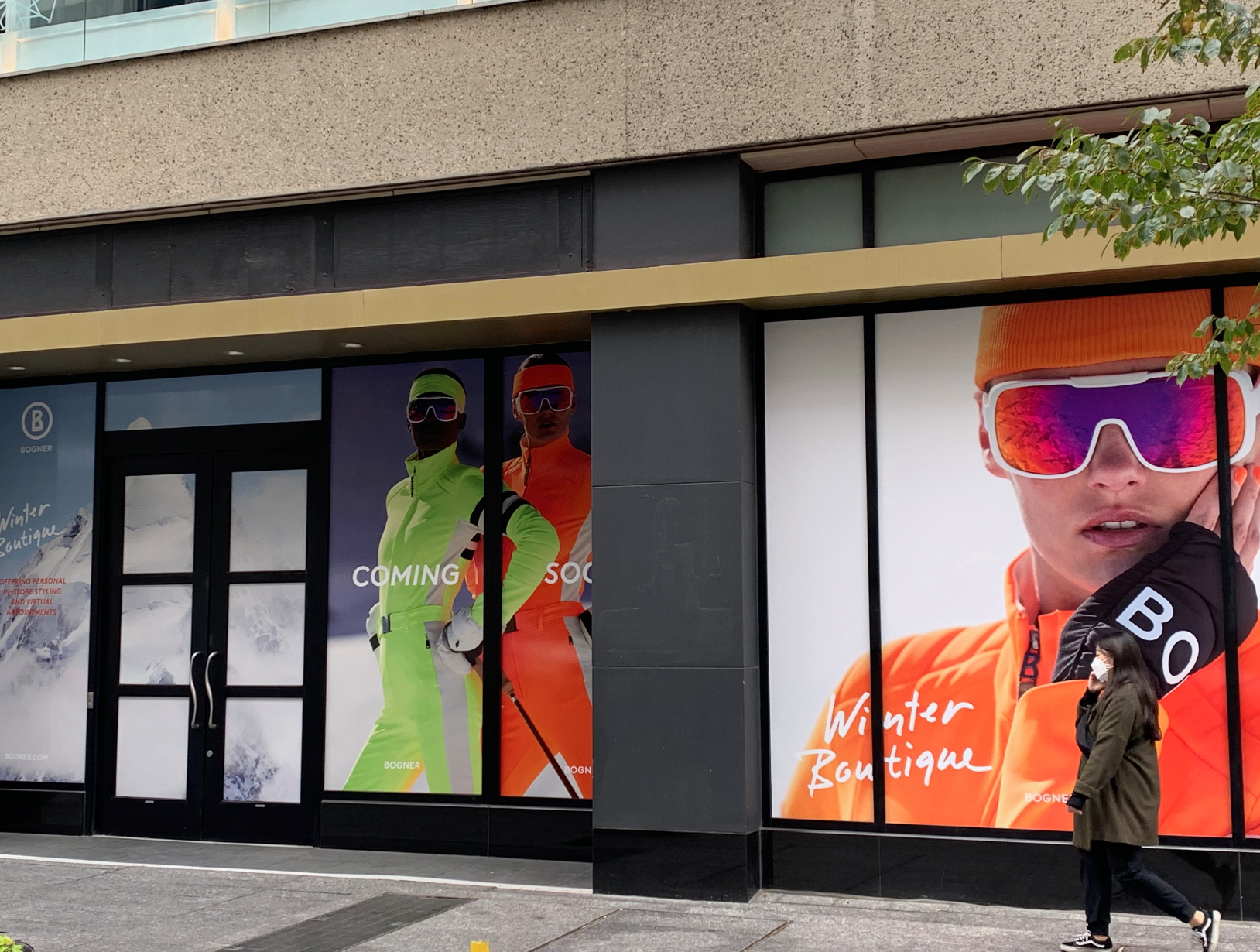 Bogner will open. pop-up in Toronto on Nov. 1.