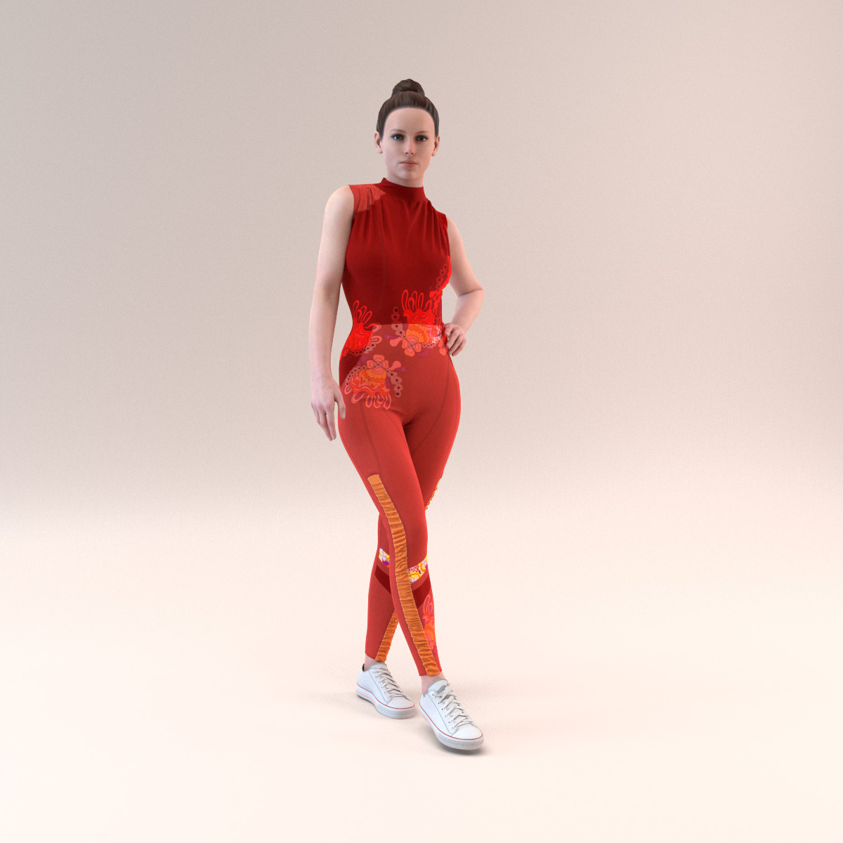 "Meet Olivia, Browzwear's new  ""parametric"" avatar."
