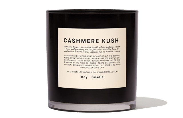 A Cashmere Kush scented candle, one of Standard Dose's hero products.