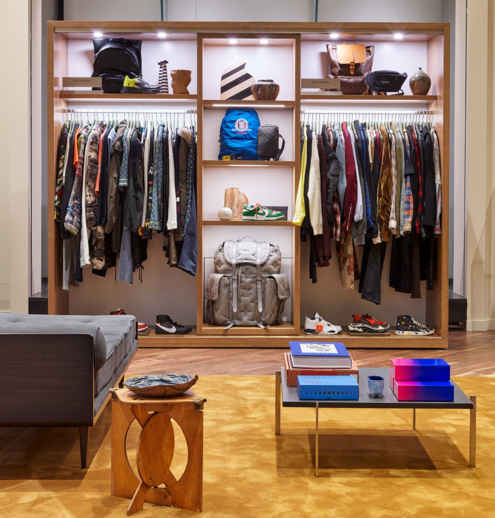 Men's streetwear at The RealReal Chicago.