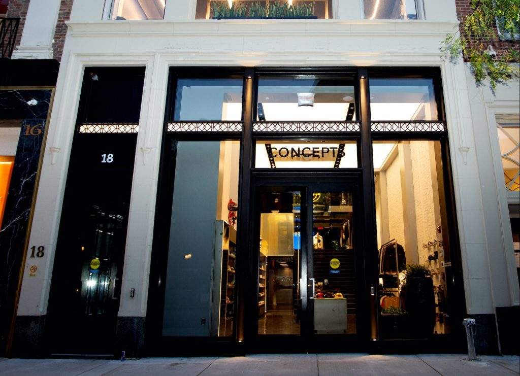 The Concepts flagship store