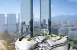 Rendering of the D. Place mall in Guiyang