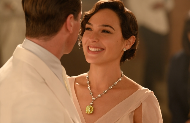 """Armie Hammer and Gal Gadot in """"Death on the Nile"""""""