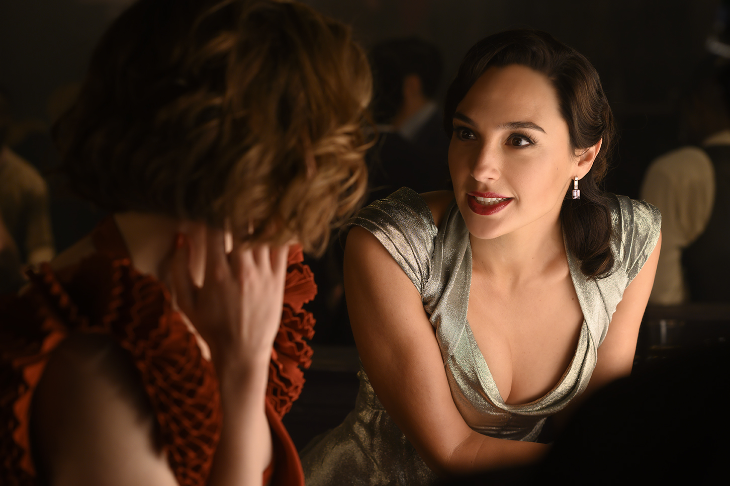 """Emma Mackey and Gal Gadot in """"Death on the Nile"""""""