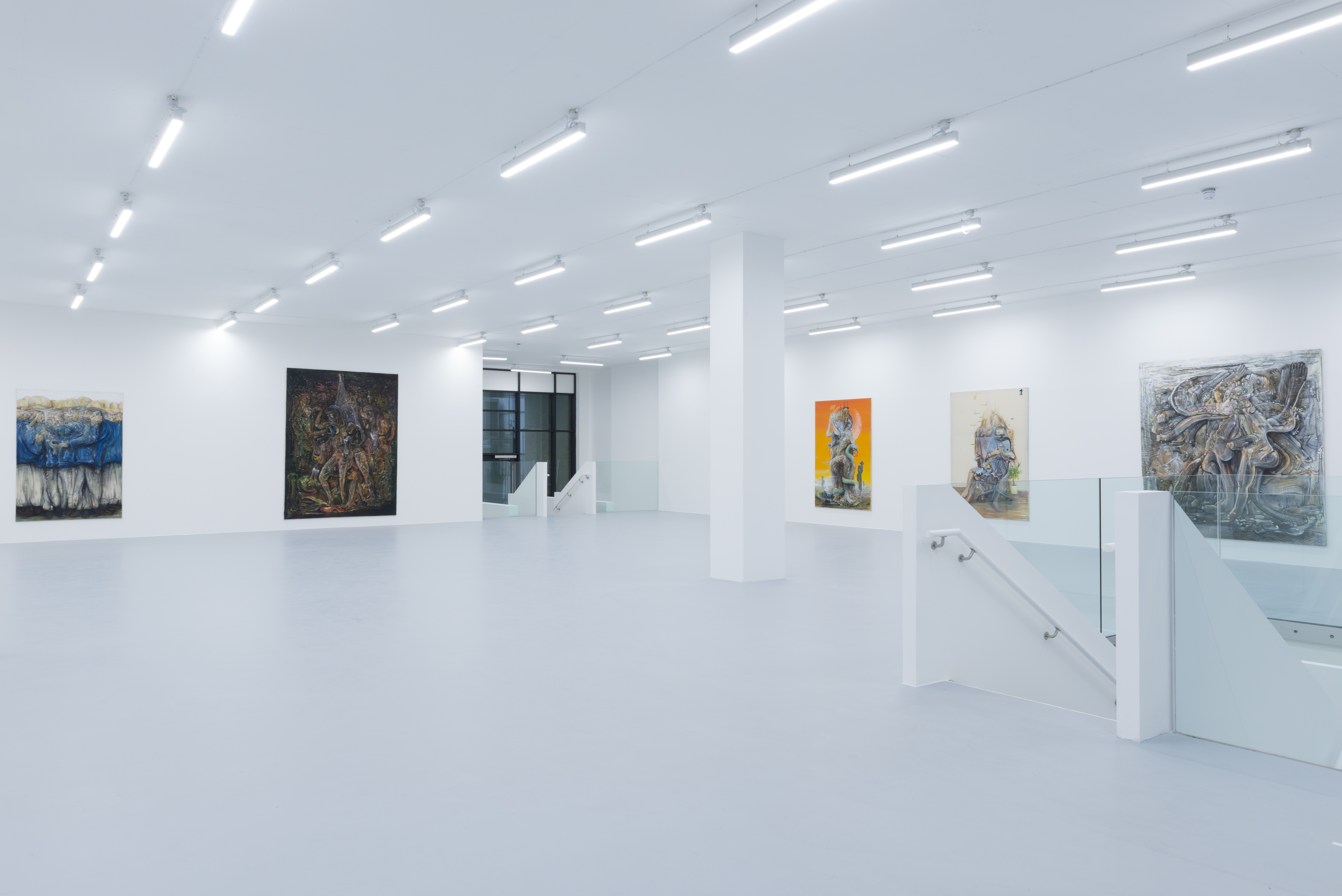 The ground floor of the new Saatchi Yates gallery in Mayfair.