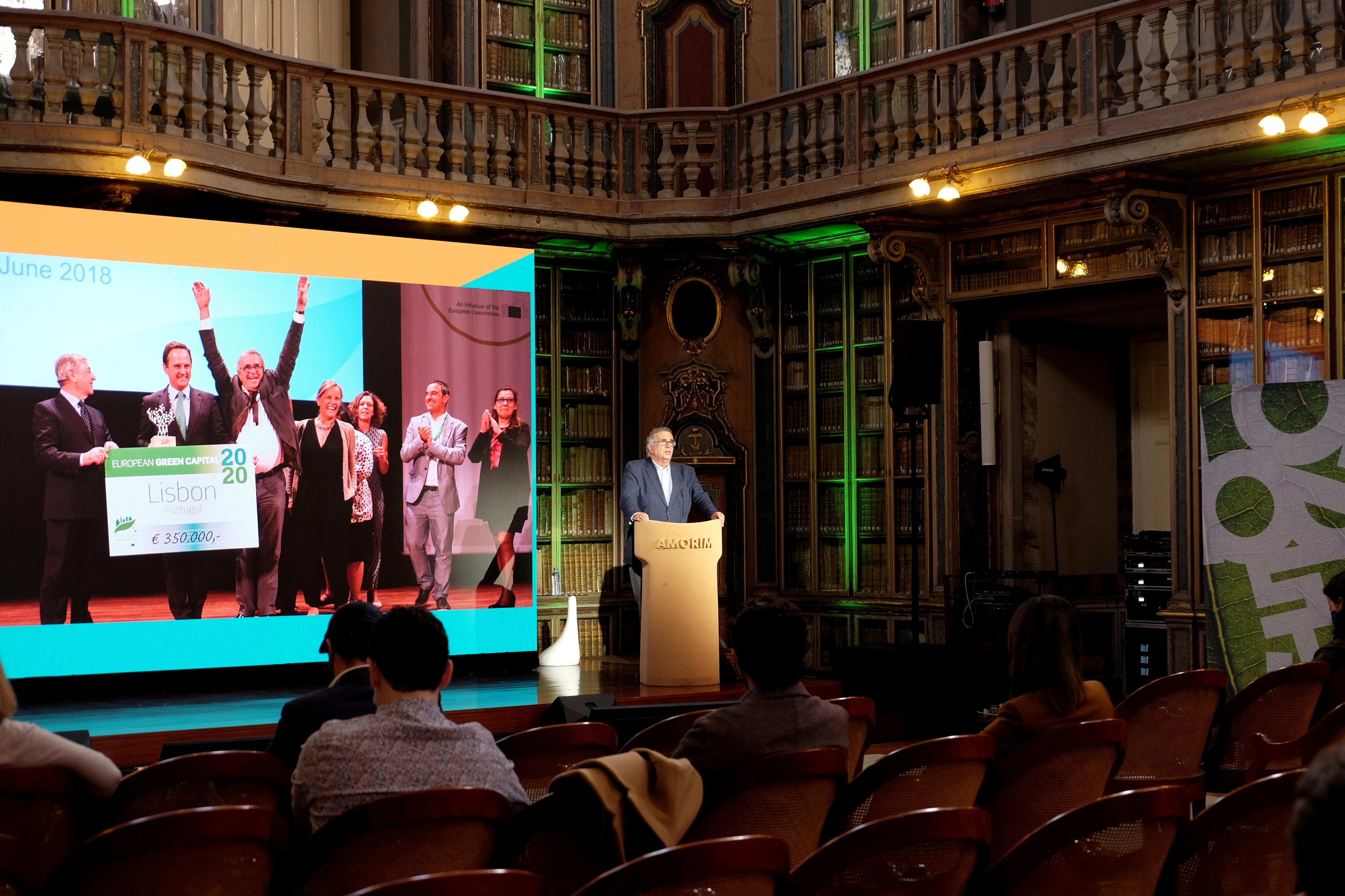 Lisbon named Europe's green capital 2020