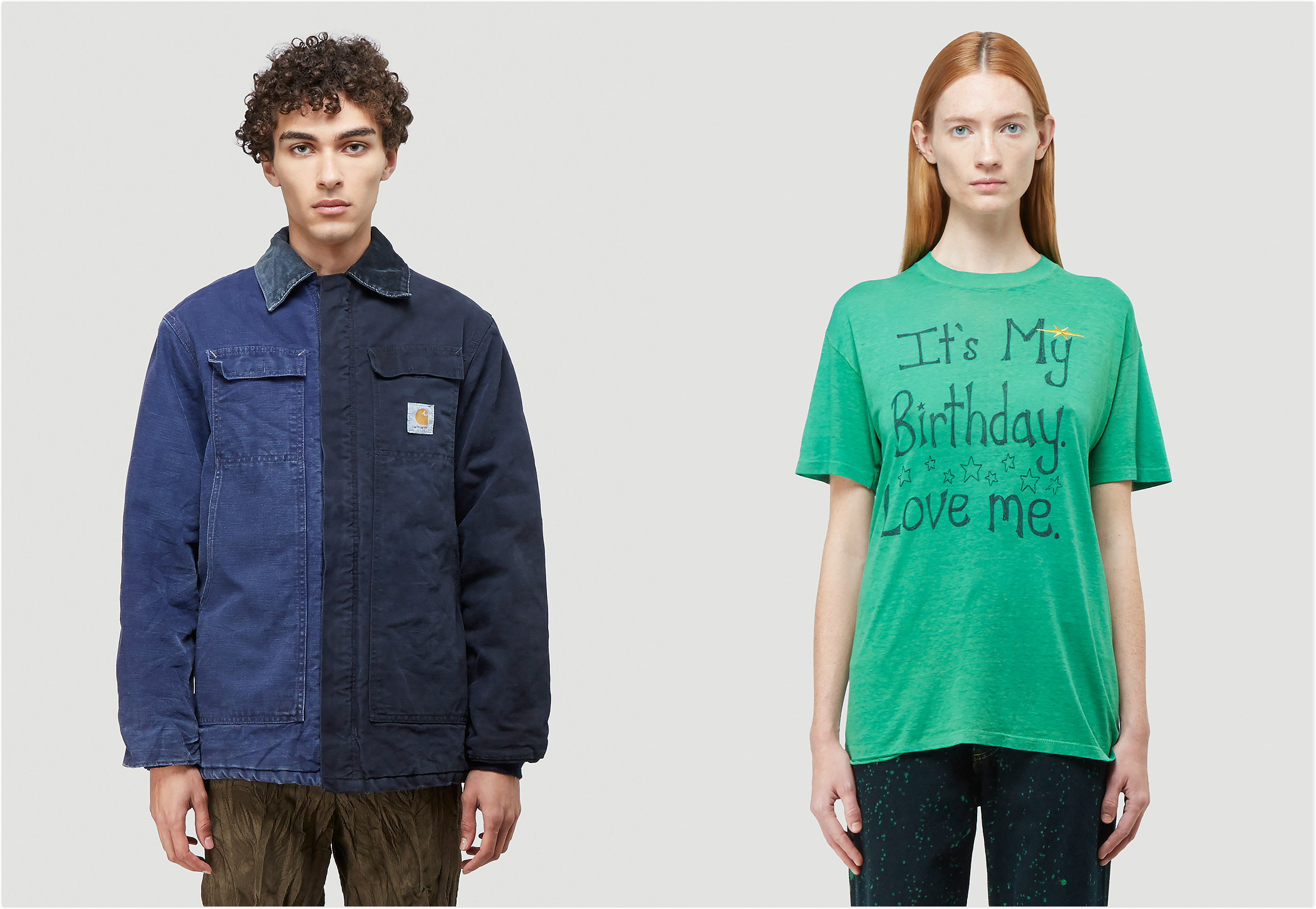 Looks from Division x Carhartt capsule, and Phipps Gold Label for LN-CC 10th Anniversary 10.10 project.