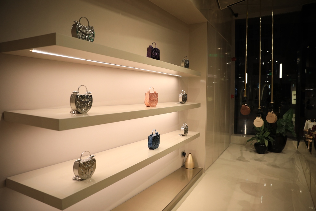 Inside Okhtein's new store in Cairo