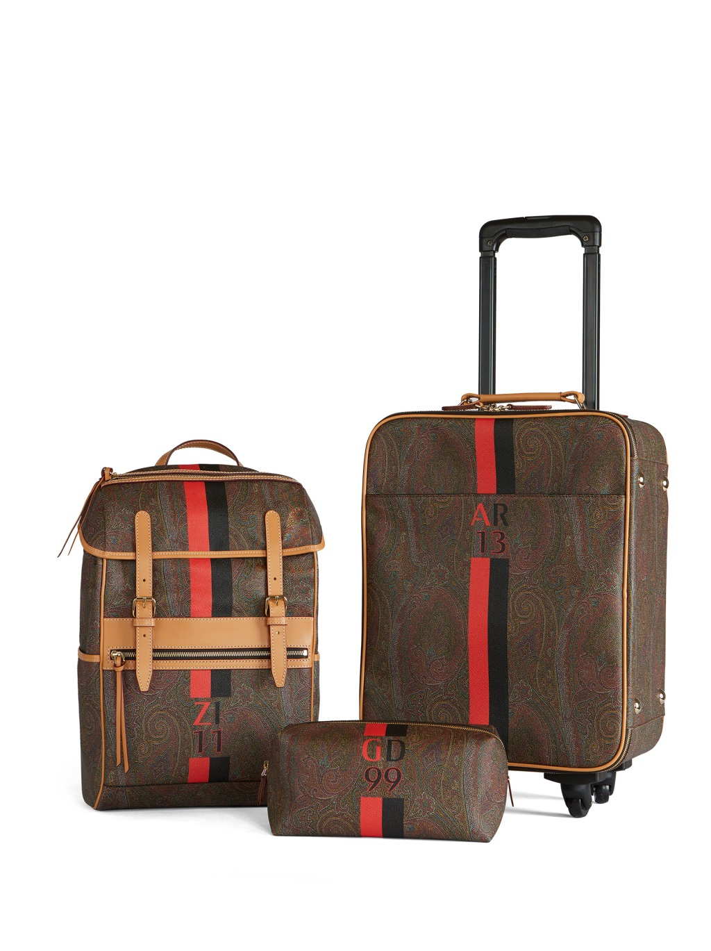 Etro travel accessories for AC Milan