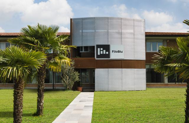 The FiloBlu HQ outside Venice, Italy.