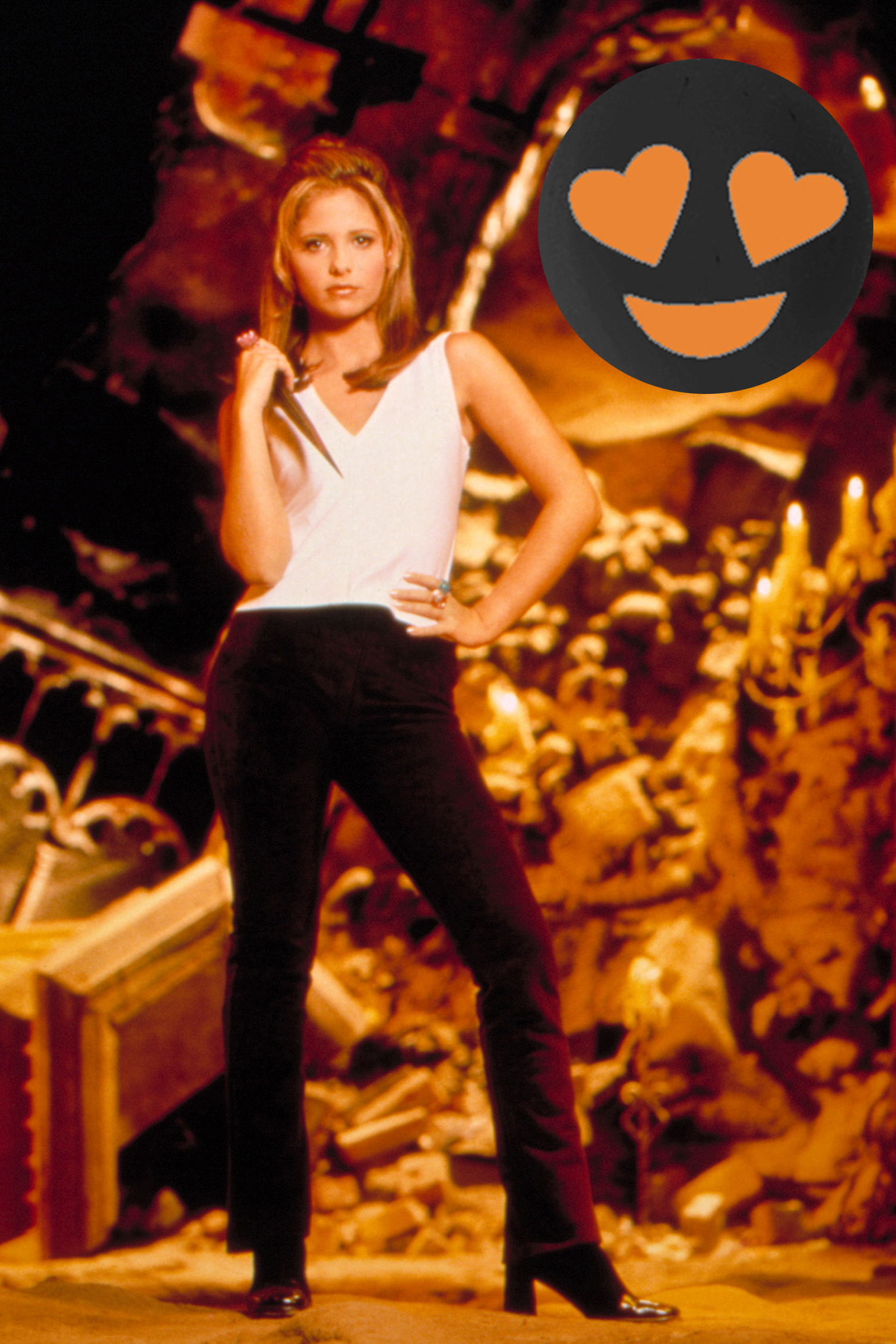 BUFFY THE VAMPIRE SLAYER, Sarah Michelle Gellar, 1997-2003, Season 1, 1997, TM and Copyright © 20th Century Fox Film Corp. All rights reserved. Courtesy: Everett Collection, 1997
