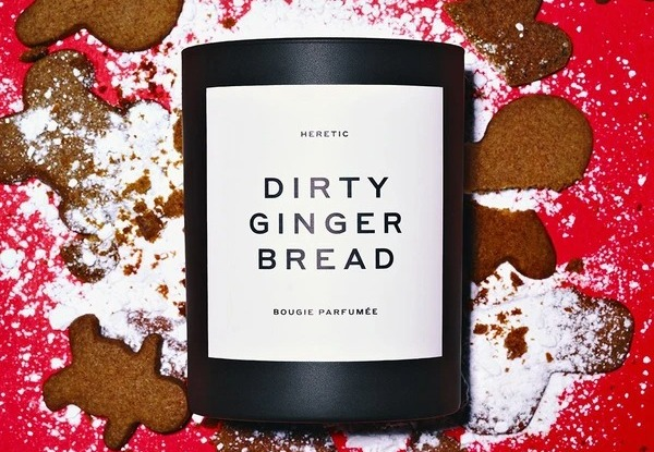 Heretic Dirty Gingerbread Candle