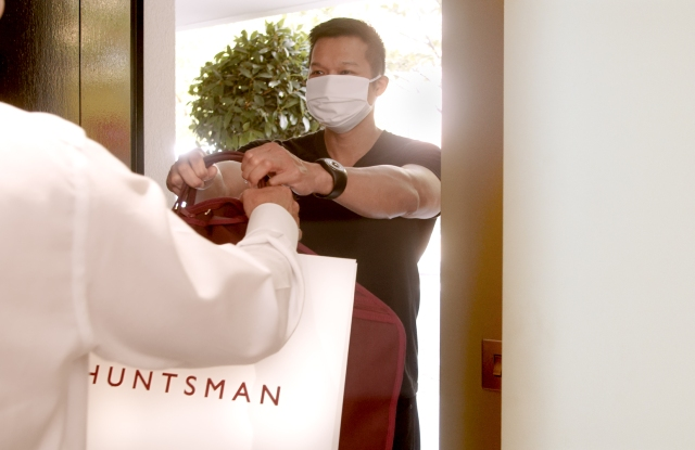 Huntsman at Home relies on Toshi's business-to-business delivery services.