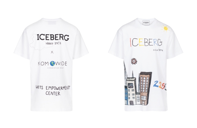 The T-Shirt created by Iceberg and Kailand Morris to support the Watts Empowerment Center.