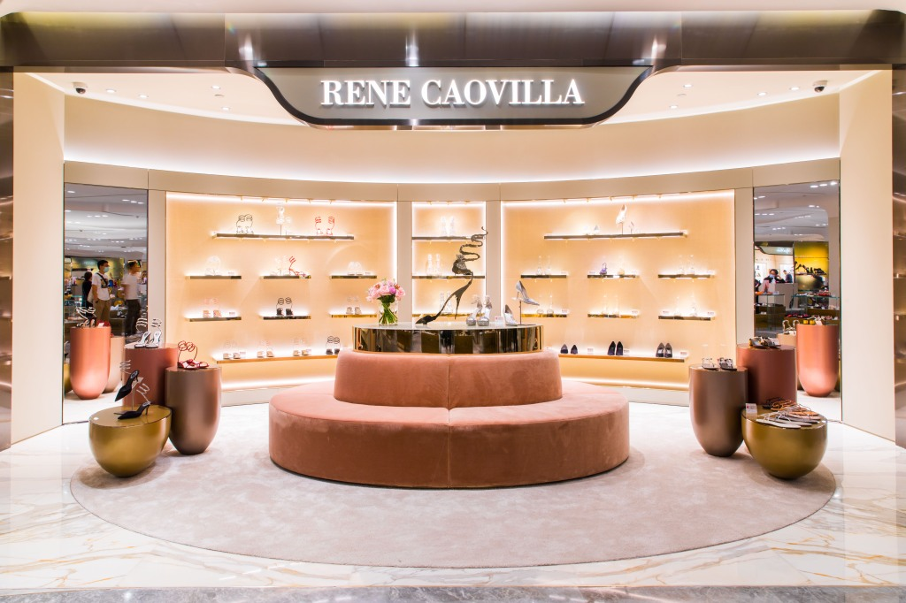 René Caovilla new store at SKP in Beijing
