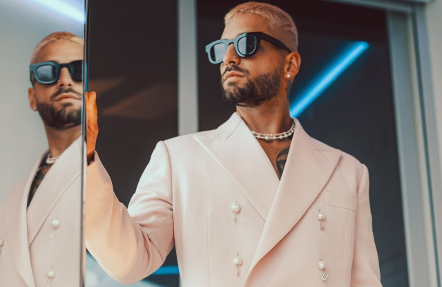 Maluma in his own design for the Latin Billboard Awards.