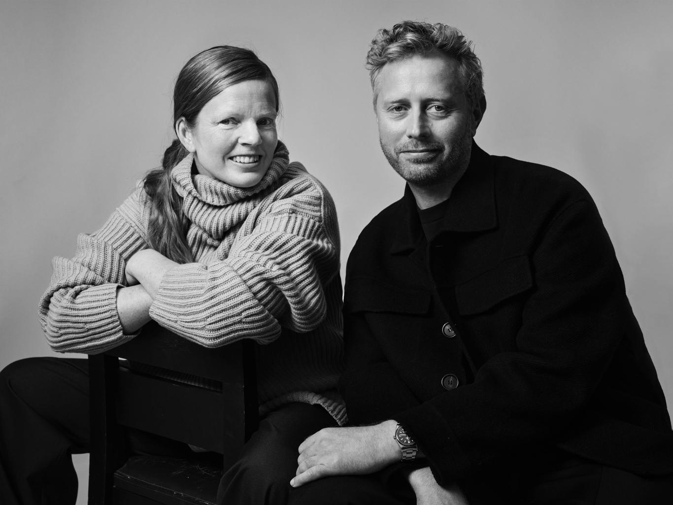 Anna LundbŠck Dyhr and Frederik Dyhr of Joseph