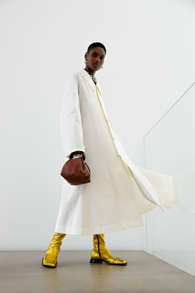 A look from the Jil Sander RTW spring 2021 collection.