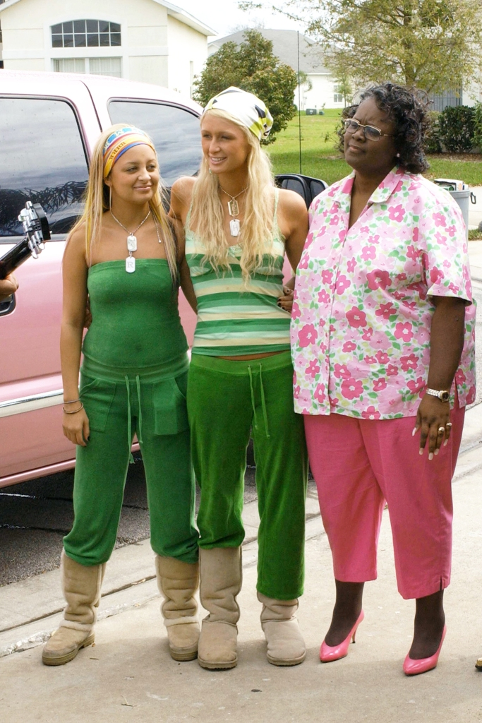 Nicole Richie, Paris Hilton, and Betty Cash in Season 2 of The Simple Life 2.